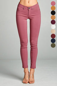 Basic Skinny Long Pants