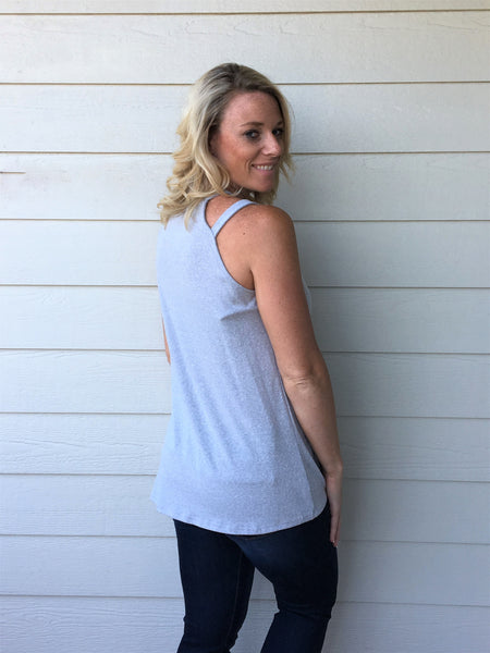 Sleeveless Top with Armbands
