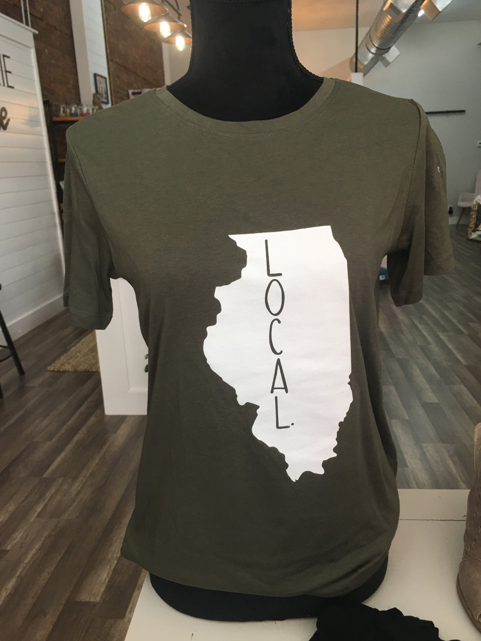 Local T-Shirt - Olive