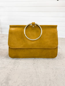 Yellow Aria Ring Bag