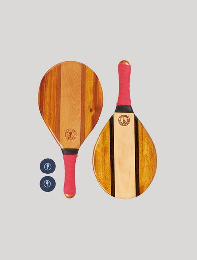 Trancoso Beach Bat Set - Red