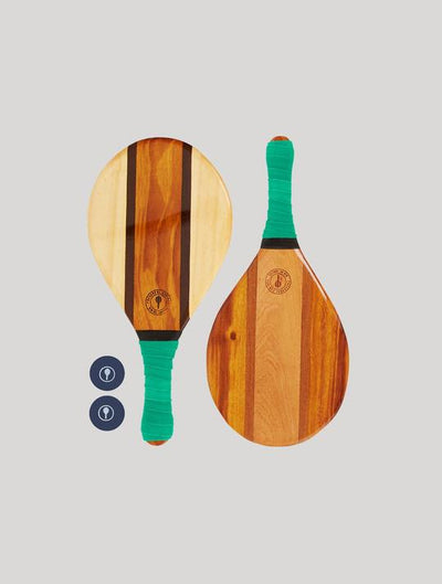 Trancoso Beach Bat Set - Leaf Green