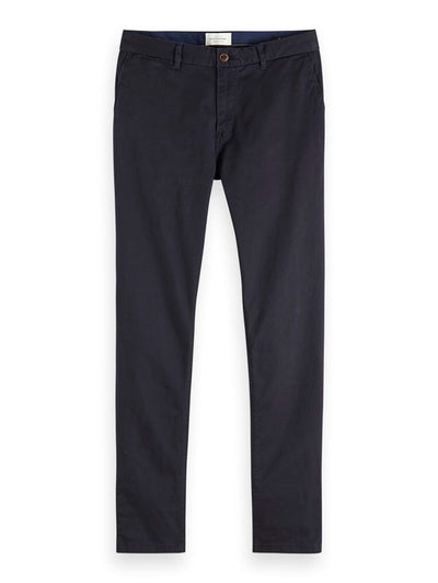 Stuart - Classic Regular Slim Fit Chino - Night 32""