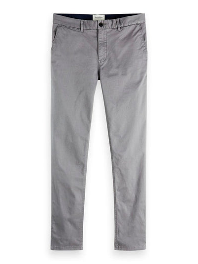 Mott - Classic Slim Fit Chino - Grey 32""