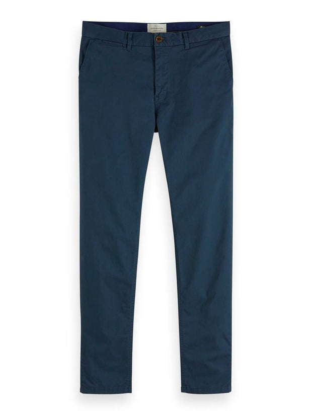 Mott - Classic Slim Fit Chino - Steel 32""
