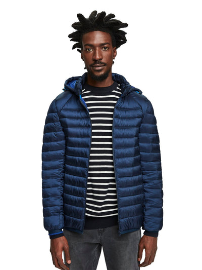 Classic Hooded Light Weight Jacket - Navy