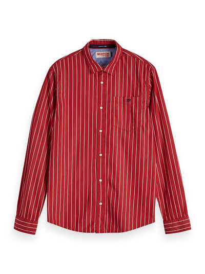 Regular Fit - Classic Breton Stripe Shirt - Combo B