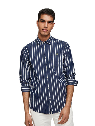 Regular Fit - Classic Breton Stripe Shirt - Combo C