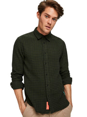 Regular Fit - Brushed Shirt In Colourfull Pattern - Combo B