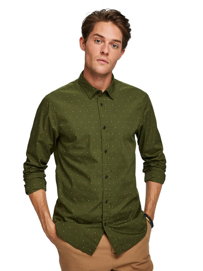 Regular Fit - Classic All-Over Printed Shirt - Combo I