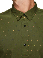 Scotch & Soda Regular Fit - Classic All-Over Printed Shirt -Combo I
