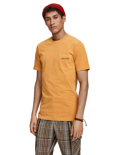 Classic Garment-Dyed Crewneck Tee - Sunflower Yellow