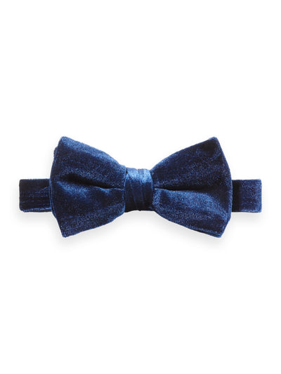 Scotch & Soda Velvet Bow Tie -Night