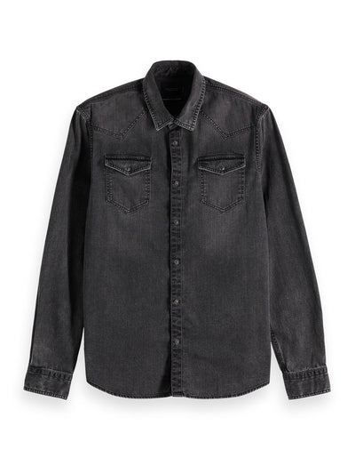 Denim Shirt In Seasonal Washes - Antra