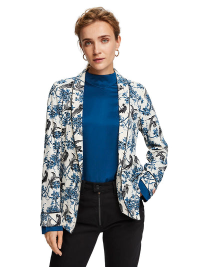 Scotch & Soda Printed Pyjama Blazer - Combo X