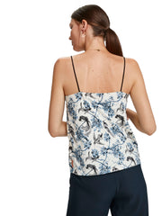 Scotch & Soda Jersey And Woven Mixed Tank Top - Combo X