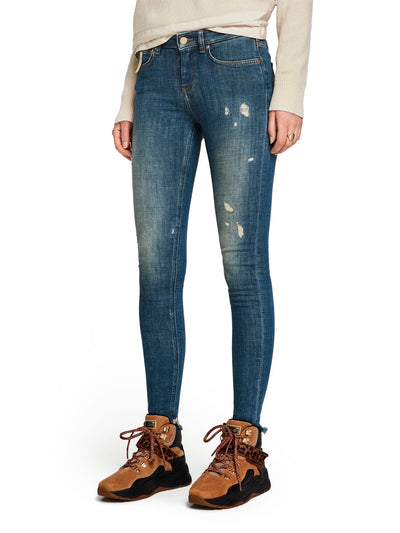 Scotch & Soda La Bohemienne Cropped Denim - The Blauw Leave 32""