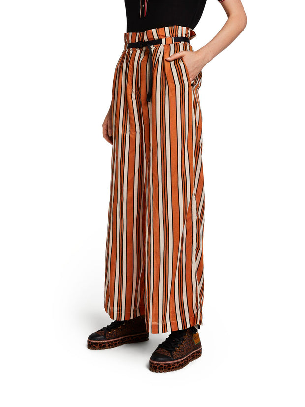 Stripy Beach Pants In Viscose Mix - Combo C