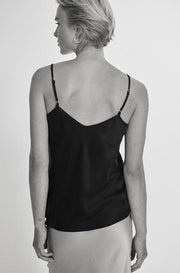 Bias Cut Cami - Black