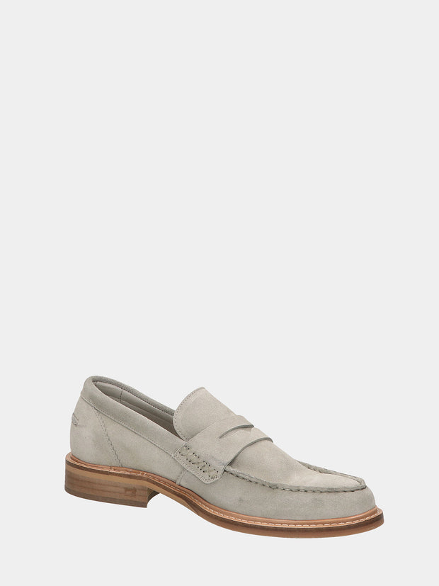 Spinel - Suede Loafers - Beige