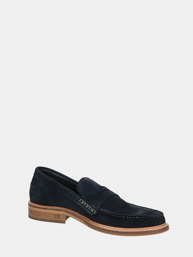 Spinel - Suede Loafers - Marine