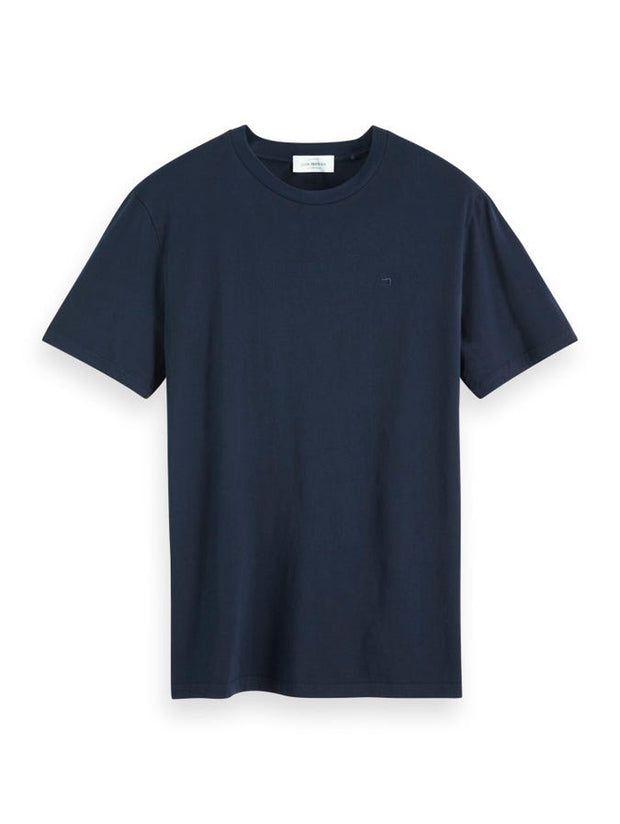 Scotch & Soda Cotton T-Shirt - Navy