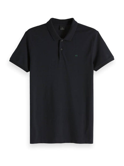 Scotch & Soda Classic Pique Polo - Night