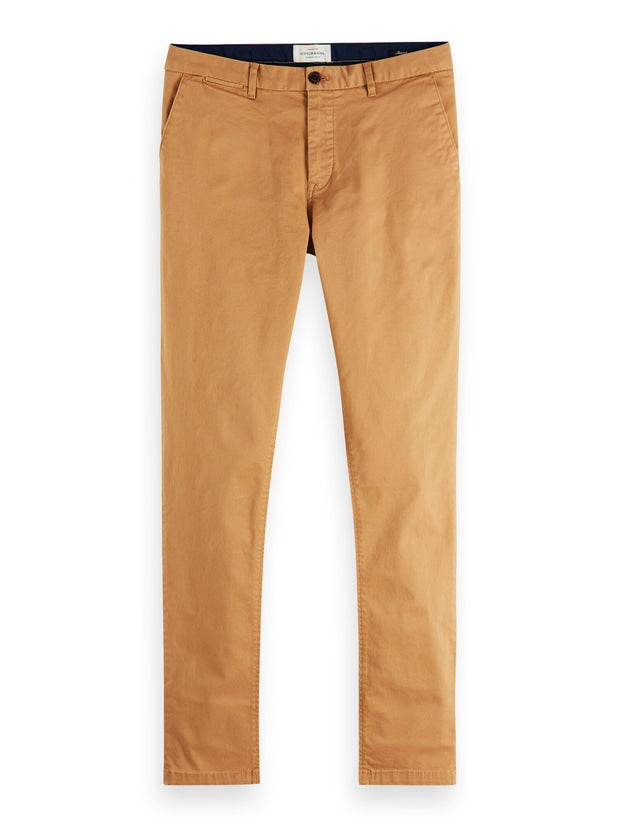 Stuart - Classic Regular Slim Fit Chino - Sand