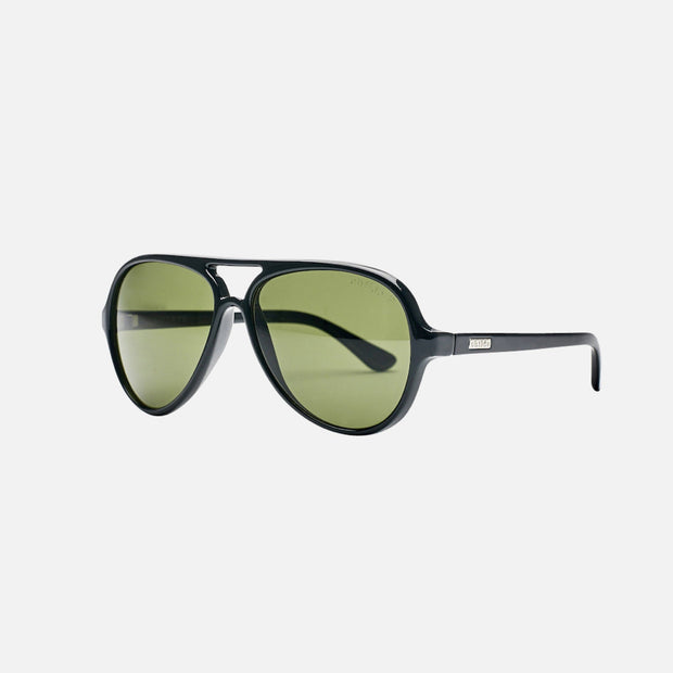 DELETE Gloss Black - Green Polarised Lens