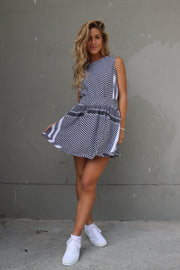 Skirt - Black/White