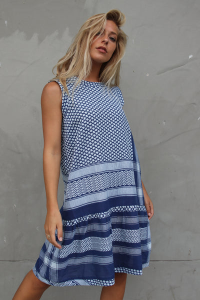 Dress 2 O No Sleeves - Twillight Blue