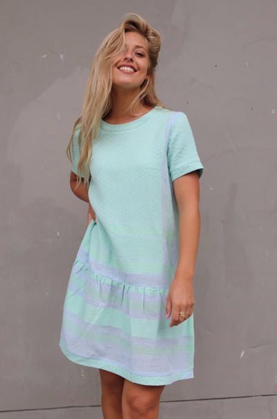 Dress 2 O Short Sleeves - Ballad Blue