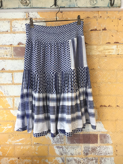 Aftergold Skirt - Navy
