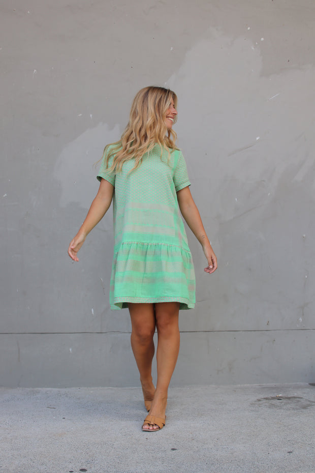 Dress 2 O Short Sleeves - Minty
