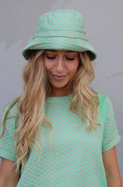 Mucca Bucket Hat - Minty