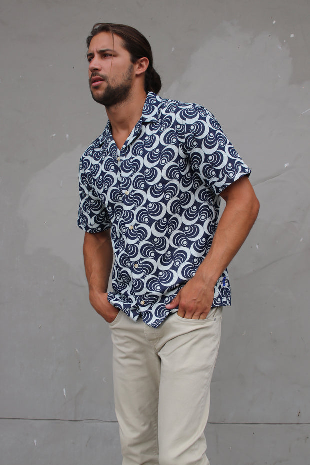 Short Sleeve Cotton Denim Shirt - Combo A
