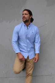 Classic Oxford Weave Shirt - Blue