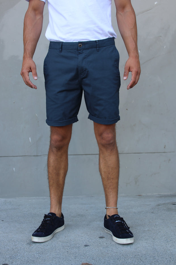 Scotch & Soda Chino Shorts - Steel
