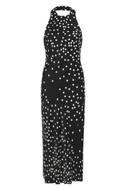 Halter Dress - Broken Dot