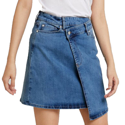 Kate Wrap Skirt - Original Denim