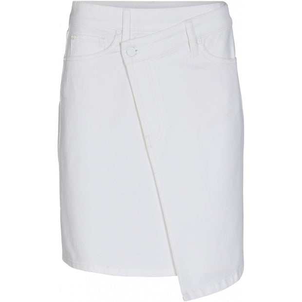 Kate Wrap Skirt - White