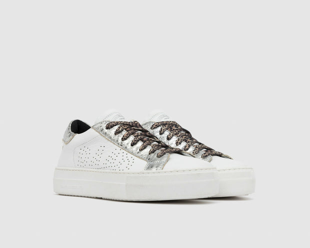 CO Thea Sneaker - White/Metalic Silver