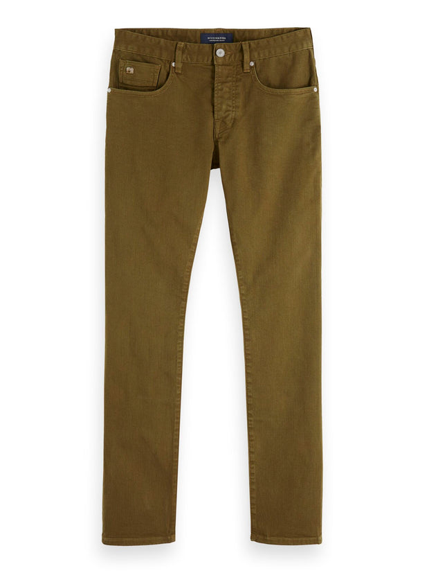 Ralston - Garment Dyed Jeans | Regular slim fit - Military Green 32""
