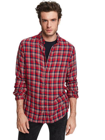Lightweight Checked Shirt | Regular fit - Combo C