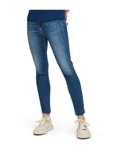 Haut Cropped - Blue Treasure | High rise skinny fit - Blue Treasure 32""