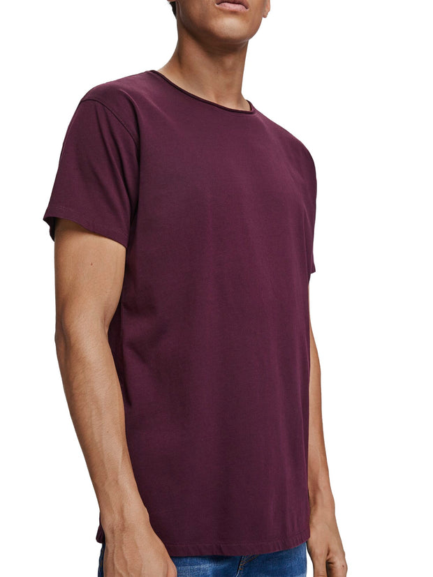 Organic Cotton T-Shirt - Enamel Purple
