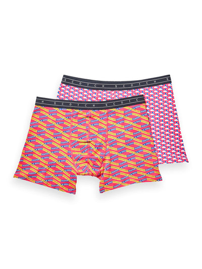 2-Pack Printed Boxer Shorts - Combo A