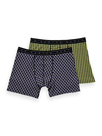 2-Pack Printed Boxer Shorts - Combo B