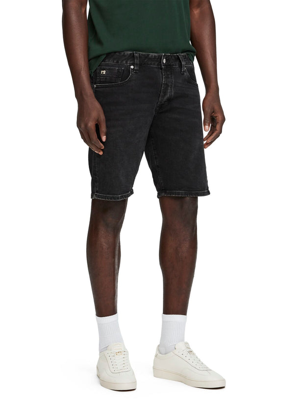 Ralston Short - Blackout | Regular slim fit - Black Out