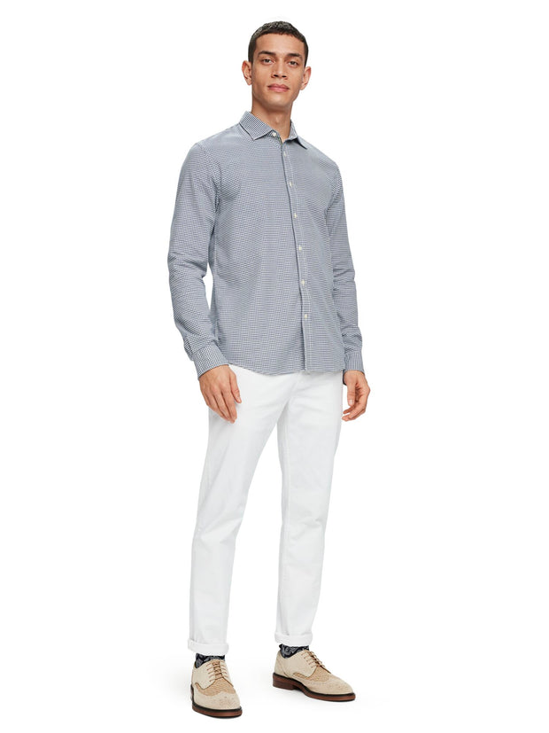 Structured Weave Shirt | Regular Fit - Combo A